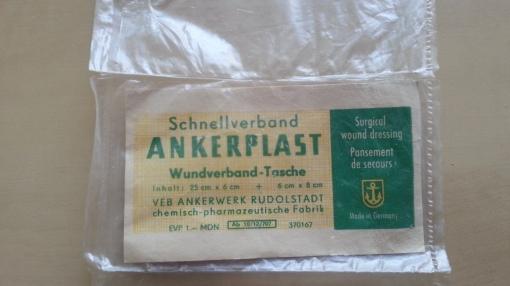 DDR Ankerplast Pflaster Auto-Sanikasten