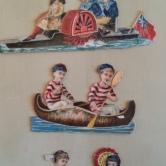 Lackbilder Bootsfahrt