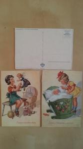 Kinder-Postkarte