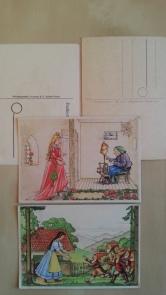 DDR Märchen Postkarte Thälmann-Druck
