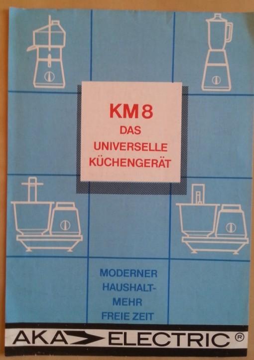 DDR Küchenmaschine Prospekt