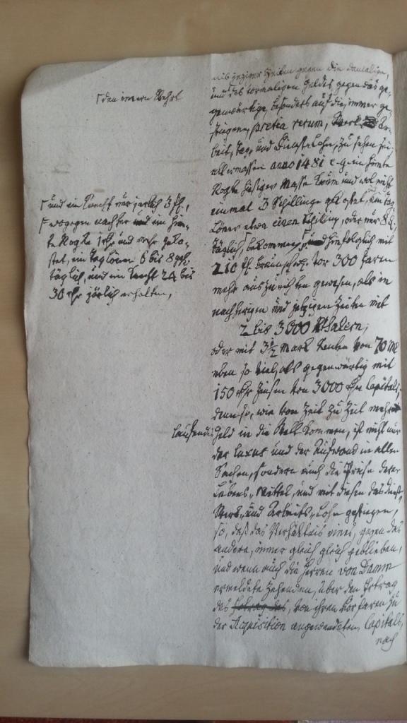 von Damm 5.Jan 1777