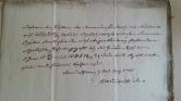 von Damm 30st May 1845 Domenia-Länderey vor Neubrück