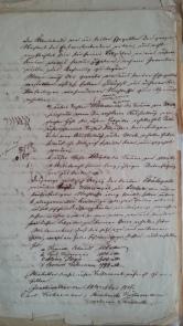 von Damm Testament 12.Mai1857 Köhnemann