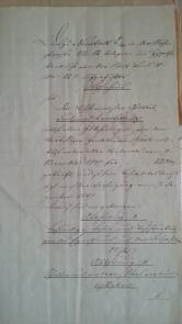von Damm Schuld- und Pfandverschreibung 20.1.1853-20.7.1901