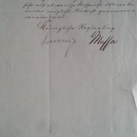 Versetzungsgesuch - 1871