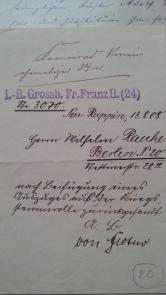 Anfrage Totenliste Rauhe Schlacht bei Vionville 1870/71 11.8.1908