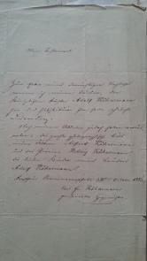 Testament 25.10.1886 Köhnemann