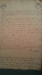 von Damm Contract mit Gemeinde Papstdorf 31. Juli 1778 und 2x verlängert