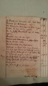 von Damm Unkosten wegen der neuen Belehnung 1748 (pro vidimatione - für amtliche Beglaubigung)