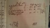 von Damm 1749 Unkosten der neuen Belehnung nach Absterben des Familien Senioris 1747
