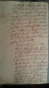 von Damm Klage 1829