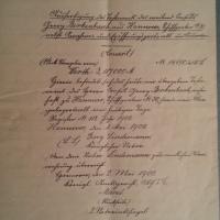 Was freuen sich die Erben auf's Sterben - das Testament des Preußischen Consuls Georg Berkenbusch 27. Juni 1901
