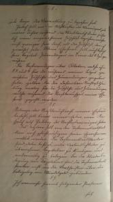 Testament des Weiland Consuls Georg Berkenbusch 27. Juni 1901