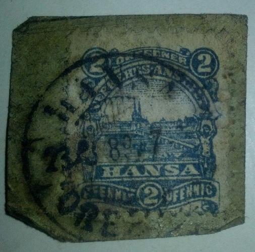 Briefmarken Hansa Dresdner Verkehrs-Anstalt Chemnitz