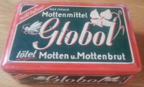 Blechdose Globol