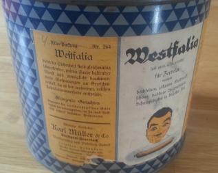 Blechdose Westfalia Wurstgewürz