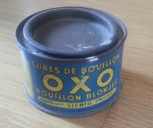 Blechdose Liebig oxo Bouillonwürfel