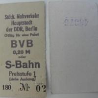 nur 20 Pfennig - und trotzdem beschissen - öffentliche Verkehrsmittel in der DDR
