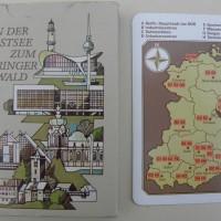 Von der Ostsee zum Thüringer Wald - ein Quartett-Spiel