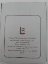 DDR Quartettspiel Von der Ostsee zum Thüringer Wald