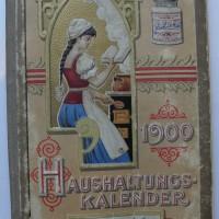Liebig Haushaltungs-Kalender aus dem frühen 20. Jh.