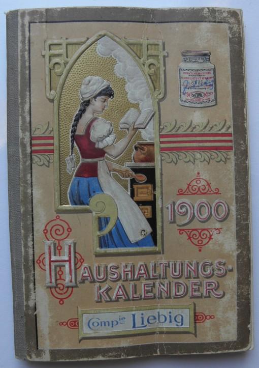 Liebig Haushaltungs-Kalender 1900