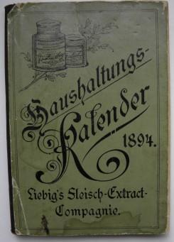 Liebig Haushaltungs-Kalender 1894