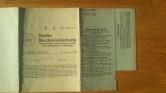 Reichskleiderkarte 1944/1945