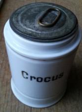 Apotheker-Dose Crocus